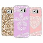HEAD CASE DESIGNS LACES AND PEARLS 2 SOFT GEL CASE FOR SAMSUNG PHONES 1