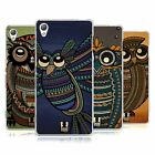 HEAD CASE DESIGNS TRIBAL OWLS SOFT GEL CASE FOR SONY PHONES 1