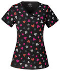 Heartbreaker Cherokee Infinity with Certainty Mock Wrap Scrub Top 2628A HTBR