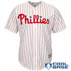 Philadelphia Phillies Majestic Official Cool Base Jersey - White - MLB