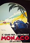 A4 Vintage Monaco Grand Prix High Quality Classic Motor Racing Posters Prints <br/> **BUY 2 GET 1 FREE - Massive Selection - Top Quality**