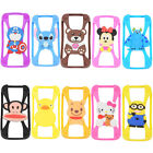 3D Cartoon Animals Phone Protector Case Soft Silicone Cover For Iphone Samsung