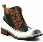 Ferro Aldo Men's Lace up Wing Tip Dress Ankle Boot w/ Leather Lining MFA-806278