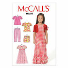 McCall's 7277 Sewing Pattern to MAKE Stretch Top Gown Shorts & Trousers -Pyjamas
