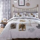 Catherine Lansfield Antique Collage Bedding Plus Matching Curtains Available