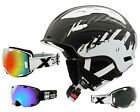 Alpina Snow Mythos Ski helmet black white + TWO-X Air goggles Snowboard