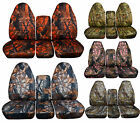 1994 to 2002 Dodge Ram 40/20/40 Seat Covers Integrated Seat Belt Option
