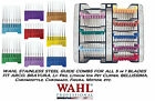 WAHL MOSER Steel Attatchment GUIDE COMB For FIGURA,BRAVURA Adjustable(5in1)Blade