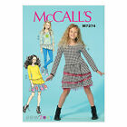 McCall's 7274 Sewing Pattern to MAKE Pullover Stretch Top Dress Skirt Leggings