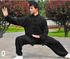 Loose Chinese Tai Chi fashion Long sleeve clothes Practice Sports Clothing Suit