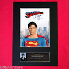 CHRISTOPHER REEVE superman Autograph Mounted Photo Reproduction PRINT A4 373