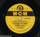 Lennie Hayton and MGM Studio Or on 78 rpm MGM 30174: Slaughter on Tenth Avenue