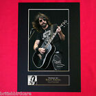 DAVE GROHL Autograph Mounted Photo REPRO QUALITY PRINT A4 77