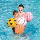 "Beach Ball Sport Bestway 16"" Inflatable Pool Toys Swimming Childs Game"