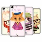 HEAD CASE DESIGNS HIPSTER ANIMALS IN WATERCOLOR SOFT GEL CASE FOR HTC DESIRE 728