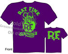 Purple Ratfink T Shirts Big Daddy Clothing Hot Rod Clothes Ed Roth Apparel Tee
