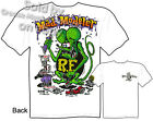 Rat Fink Tee Mad Modeler Ed Roth Tshirt Big Daddy Apparel Sz M L XL 2XL 3XL