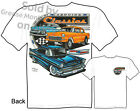 55 56 57 Chevy T shirt 1955 1956 1957 Classic Car Apparel Bel Air M L XL 2XL 3XL
