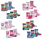 Socks 3 PACK cotton rich baby boys girls childrens kids toddlers