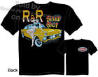1955 Ford Gasser T-shirt, Speed Shirt, Pinup Drag Racing Tee, Sz M L XL 2XL 3XL