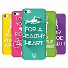HEAD CASE DESIGNS WORKOUT INSPIRATIONS HARD BACK CASE FOR APPLE iPHONE 5C