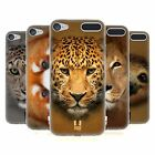 HEAD CASE DESIGNS ANIMAL FACES 2 SOFT GEL CASE FOR APPLE iPOD TOUCH 6G