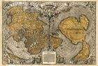 MP71 Vintage 1531 Historical Antique Old World Map Chart Poster Print A1/A2/A3