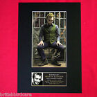 HEATH LEDGER Joker Signed Autograph Mounted Photo RE-PRINT A4 18