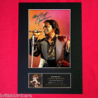 JAMES BROWN Signed Autograph Mounted Photo RE-PRINT A4 157
