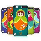 HEAD CASE DESIGNS MATRIOSKE COVER RETRO PER APPLE iPOD TOUCH 5G 6G