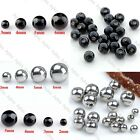 Wholesale 14/16G 2-6mm Stainless Steel Ball Beads Fit Body Piercing Accessories