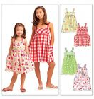 McCalls Childrens Easy Sewing Pattern 5613 Summer Pinafore Dresses (McCalls-5...