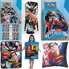 BATMAN vs SUPERMAN BEDROOM ACCESSORIES - Choose One or More - BOYS KIDS CLASH