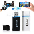 Mini Portable USB 3.5mm Wireless Bluetooth Music Car Home Audio Receiver Adapter