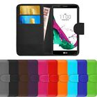Leather Flip Cover For LG G4 H815 H818 Wallet Slim Phone Case + FREE Protector