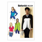 Butterick 6329 Sewing Pattern to MAKE Stretch Curved-Seam or Cropped Jackets