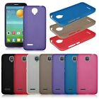 Frosted Matte Gel TPU Back Case Cover Skin For Various Alcatel One Touch Phone