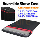 "14"" 15.6"" 13.6"" Carrying Sleeve Case Bag for Apple Macbook Mac Pro Air Notebook"