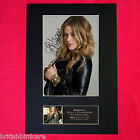 KELLY CLARKSON Mounted Signed Photo Reproduction Autograph Print A4 243