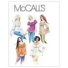 McCall's 5050 OOP Sewing Pattern to MAKE Tops & Tunics Sleeve Variations
