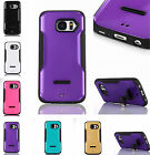 Kickstand Style Case For Samsung Galaxy Series TPU Rubber + PC Shockproof Cover
