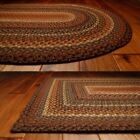 Biscotti Cotton Braided Area Rugs 20x30 - 8x10 Oval and Rectangle