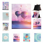 For iPad Samsung Amazon Pop Magnetic Patterned Card Holder Flip Cover Case Skin