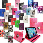 Leather 360 Degree Rotating Smart Stand Case Cover For APPLE iPad 2 3 4 mini Pro