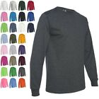 NEW Fruit Of The Loom Tee Heavy Cotton Men's S-3XL Long Sleeve T-Shirts WD930