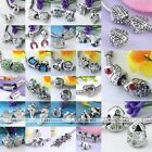 Various Alloy Animal Spacer European Beads Charms For Bracelet Necklace DIY