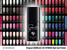Semilac Soak off Gel Polish Led UV Hybrid Nail ALL 220 COLOURS Manicure Nail Art
