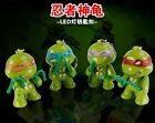 Teenage Mutant Ninja Turtles TMNT Sound Flashlight LED Light Keychain Key Ring