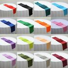 1PC 12X108'' Polyester Quality Satin Table Runner Decorations Wedding Party HOT