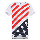 Mode US T-Shirt stars stripes Flagge Amerika NEU
